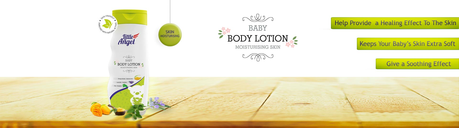 Baby Lotion, Baby Lotion :: Little Angel