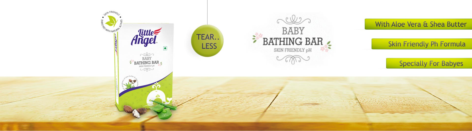 Neutral pH Soap, Baby Neutral pH Soap :: Little Angel