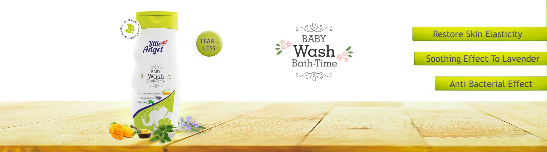 Baby Wash, Baby Wash :: Little Angel